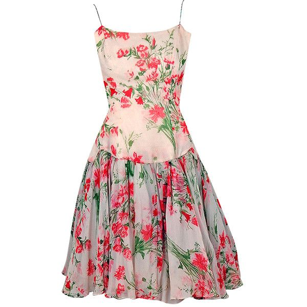 78  ideas about Floral Cocktail Dresses on Pinterest  Vintage ...
