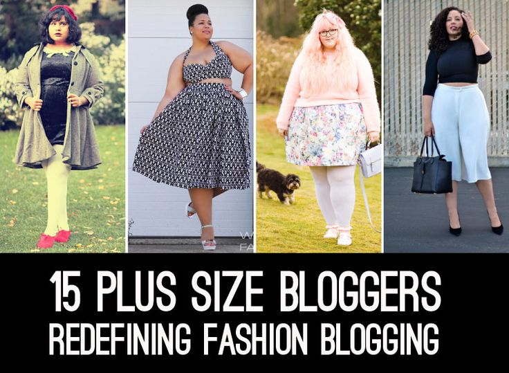 "article | 15 plus size Bloggers Redefining Fashion Blogging By: Ashley ""Ashe"" Robison"