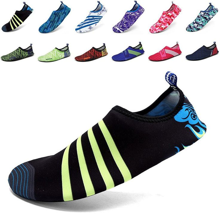 EQUICK Men Women and Kids' Quick-Dry Sports Water Shoes Aqua Socks with Holey Ventilation Sole >>> You can get additional details at the image link.