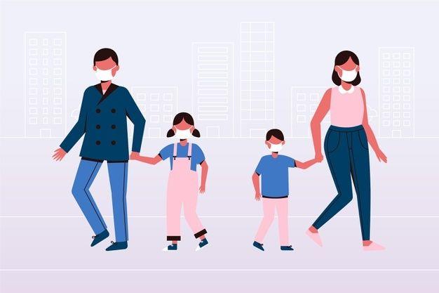 Dos Ninos Peleando Vector Premium Ninos Caminando Dibujos Animados De Personas Parejas De Ancianos