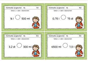 Aufgabenkarten: mit Sorten rechnen, 4. Kl.
