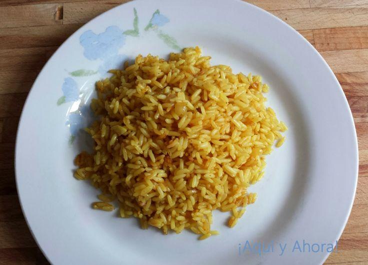 ¡ AQUÍ Y AHORA !: Arroz al curry