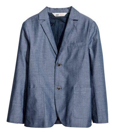 H&M Chambray blazer $39.95