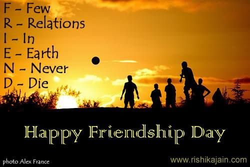Wish you a Happy <b>Friendship</b> Day | Daily Inspirations for Healthy ...