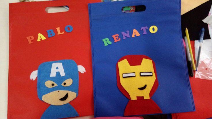 #bolsas #colegio #niños