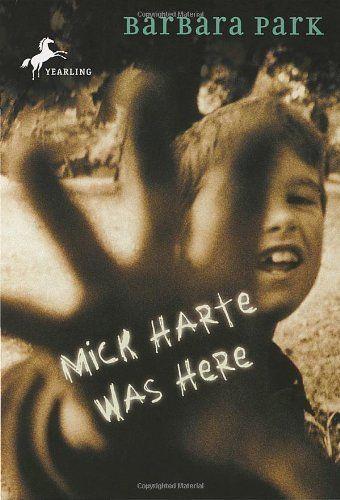 Mick Harte Was Here by Barbara Park. 1999 Winner