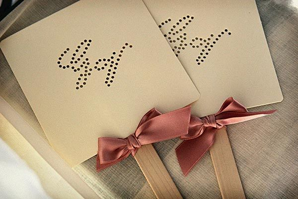 The Brides' Sofa - forum matrimonio • DIY i ventagli per il matrimonio