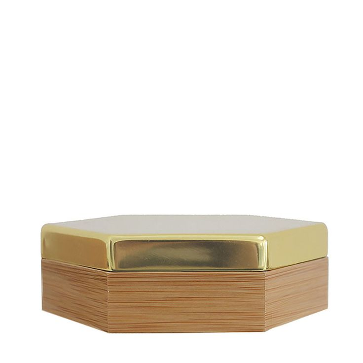 top3 by design - Evie - Hex box small gold lid