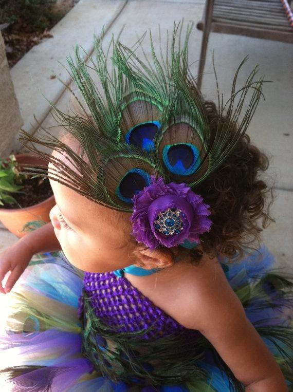 Beautiful Peacock tutu dress set Peacock Dress by FOXYFASHIONTUTUS, $69.00