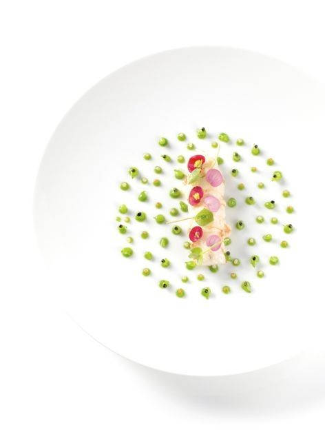 langoustine,petits pois. - The ChefsTalk Project