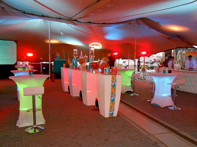 We offer more than just tents, everything you will need to make your special event a memorable and truly enjoyable one for you and your guests. We rent it all! Contact us on 021 788 7053 or info@touaregtents.co.za