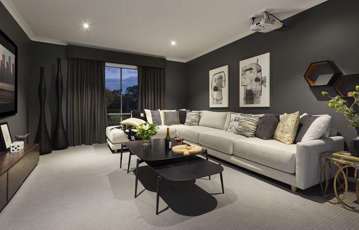 Granvue Homes Premium Series  Melanite Display Theatre room