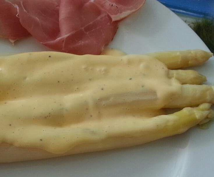 Sauce Hollandaise für Spargel
