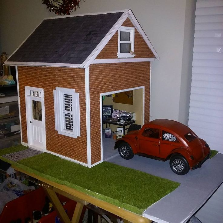 278 best my dollhouse miniature creations images on pinterest for Garage mini 77