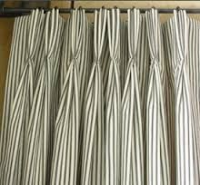triple pleated curtains - Google Search