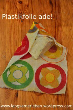 Plastikfolie nutzen wir seit geraumer Zeit nicht mehr, stattdessen griffen wir zu unseren Brotdosen aus Edelstahl, zu Einmachgläsern und der altbewährten Käseglocke. Da es aber ganz schön ist, eine...