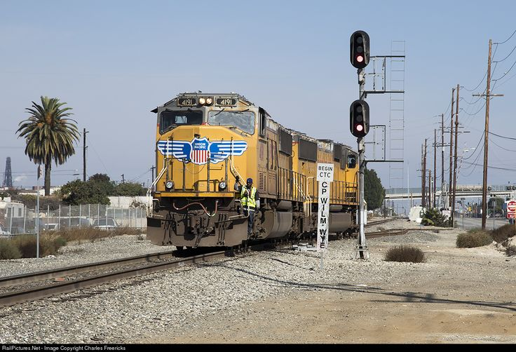 RailPictures.Net Photo: UP 4191 Union Pacific EMD SD70M at Carson, California by Charles Freericks
