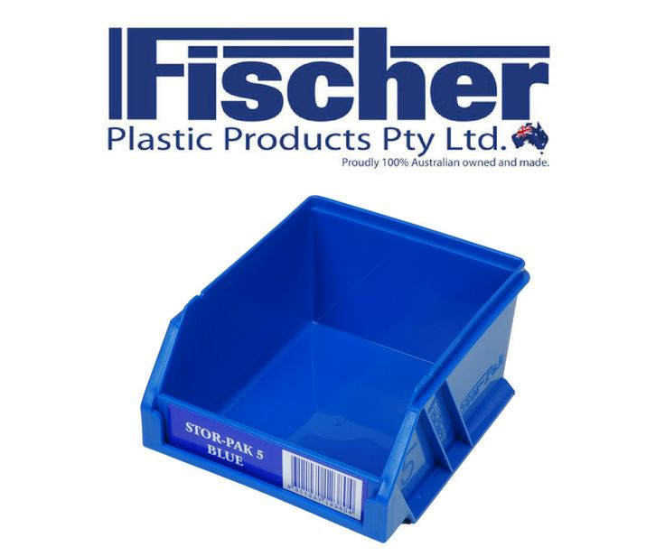 Our Fischer Stor Pak storage containers are made from tough polypropylene. This means that the Stor Pak will retain its shape after torsion, bending and/or flexing. It also has good chemical resistance over a wide range of bases and acids. The Stor Pak range is ideal for storing accessories in your van, office, warehouse, home and garage.