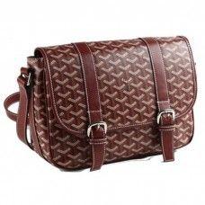 Goyard Messenger Bag MM Burgundy