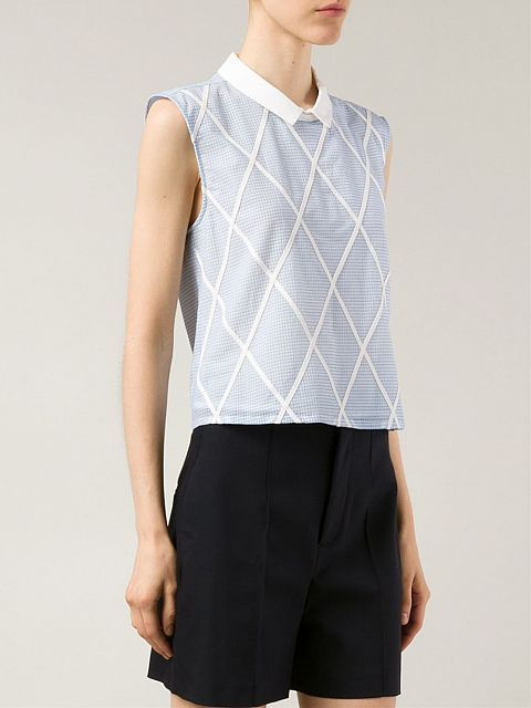Gingham pattern: vichy print clothes for the Spring Summer 2015