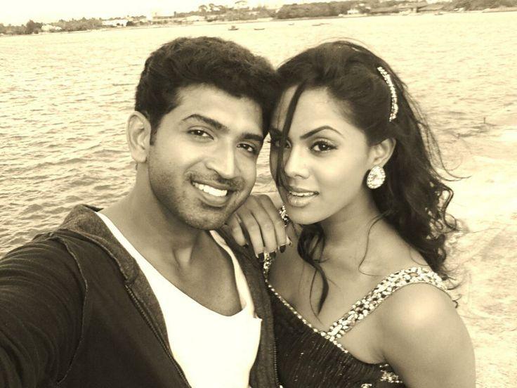 Karthika Nair with Arun Vijay