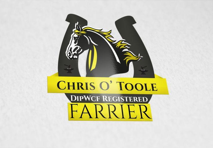 #Logo Design for Farrier