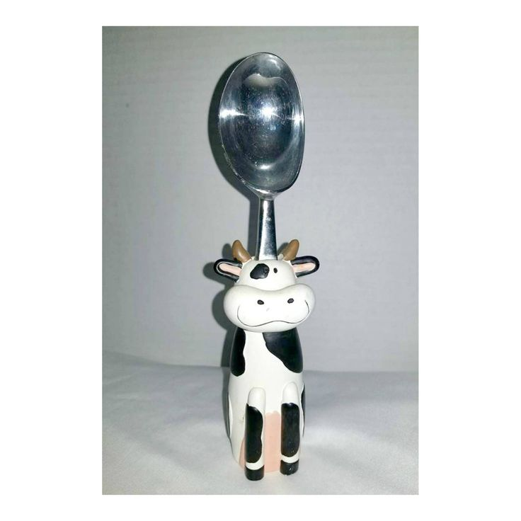 Cow Ice Cream Scoop,Ice Cream Scoop,Country Home,Country Kitchen,Cow Decor, Farmhouse Decor,Kitchen Tools,Holstein Cow,Kitsch