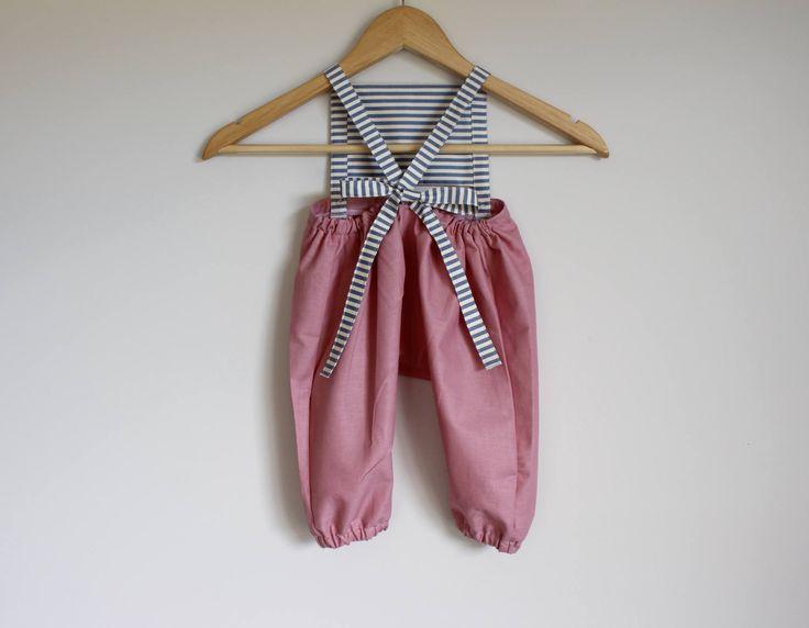 M E R C U R Y  -   P L A Y S U I T .:.   pink + stripes + by Littlebittythreads on Etsy