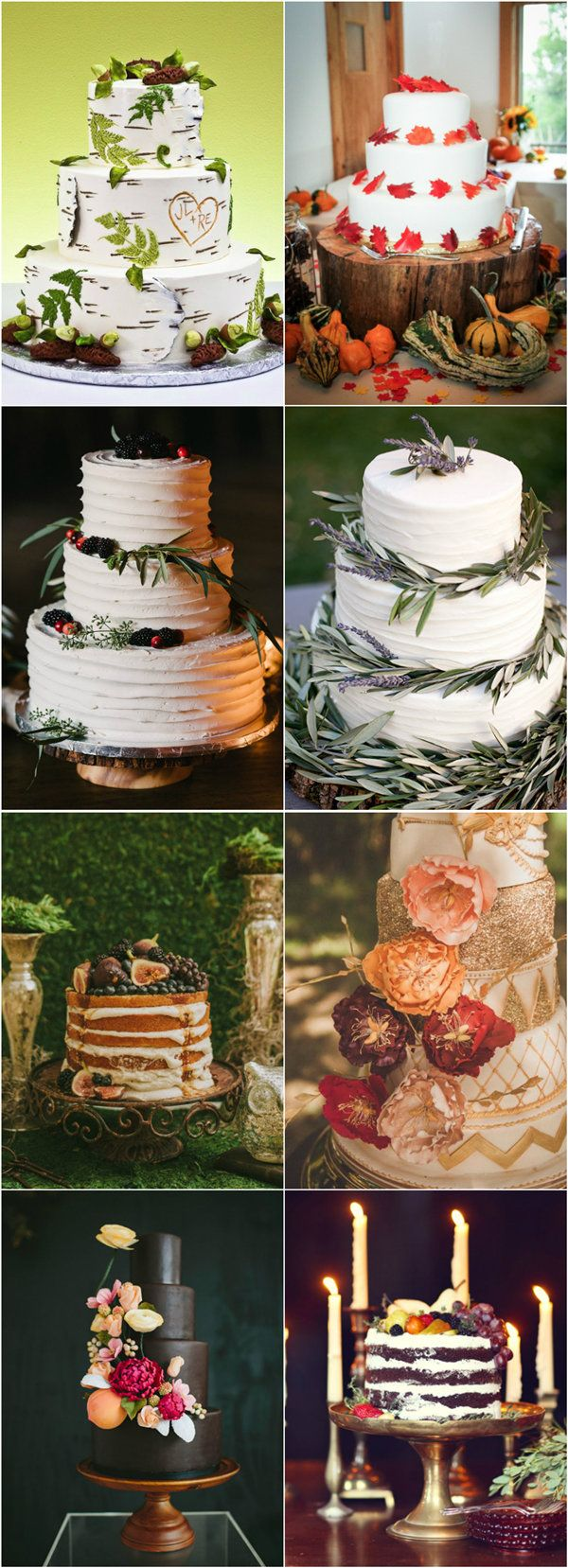 stunning fall inspiration wedding cakes to steal