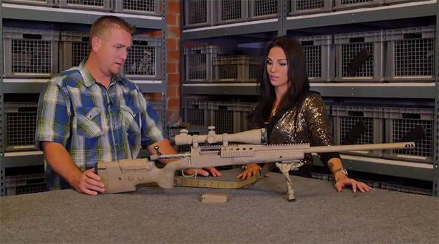 Check out the rifle used in the movie American Sniper. We go to Independent Studio Services to go behind the scenes with the guns used in the movie.