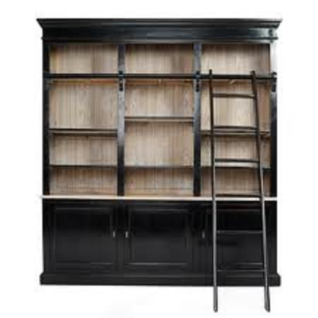 17 Best Ideas About Bookcase With Ladder On Pinterest Home Library Decor Library Bookshelves