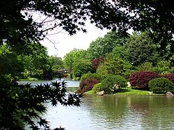 Missouri Botanical Gardens, Japanese Garden....the largest japanese garden in North America