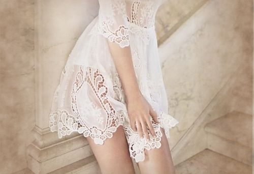 ..: Photos, Fashion, Style, Clothes, Weddings, White, Wedding Dress, Things, Lace Dresses