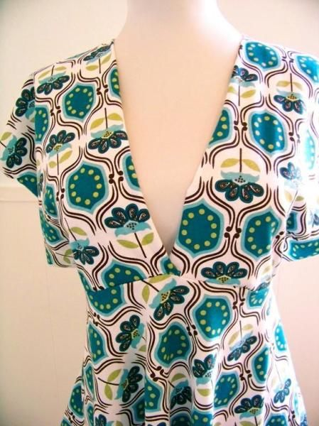 free sewing pattern empire line top