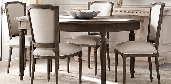 Warner Upholstered Bed With Antique Brass Nailhead Detail Enchanting Restoration Hardware Dining Room Sets Inspiration Design