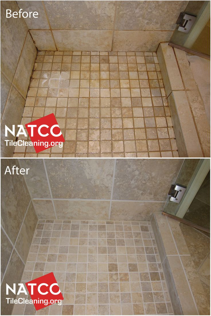 Best Grout Colorsealing Before and After Images