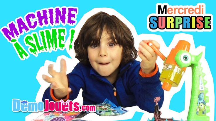 awesome Watch Slime Machine Surprise Furby Sonic My Little Pony Le Voyage d'Arlo Disney - Démo Jouets