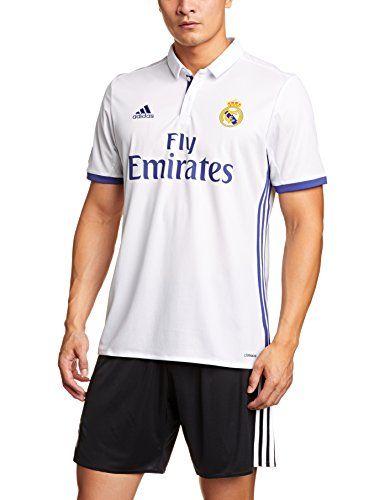 Adidas Primera Equipación Real Madrid 2016-2017 Camiseta oficial para hombre #camiseta #realidadaumentada #ideas #regalo