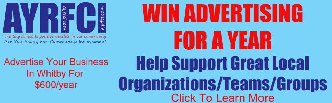 Win Advertising For A Year $600 Value In The Whitby Community