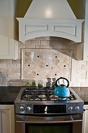 Subway Tiles Stove And Tile On Pinterest