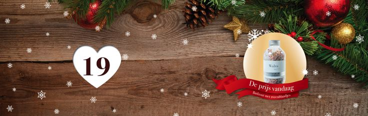 🎄🎁✨ Tel af naar #Kerst met de adventskalender vol #prijzen van SpaDreams!     Het negentiende vakje van onze Wellness - #Adventskalenderactie bevat het volgende cadeautje: met rozenblaadjes gevuld '' Badzout van Walra '' 👌  Ontspannen & lekker ruiken in één potje!     Wil jij deze fantastische prijs winnen? Het enige wat je hoeft te doen is SpaDreams kerstkoekjes zoeken! 🍪 🎄    Bekijk vandaag de pagina: www.spadreams.nl/kuurreis-dode-zee/ en tel de koekjes,   ga dan naar de invulpagina…
