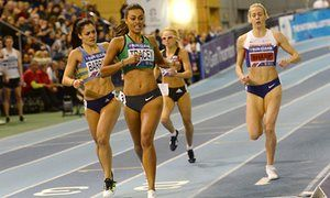 Adelle Tracey confounds the field by winning 800m in Sheffield • Tracey defeats Lynsey Sharp and Jenny Meadows at British trials • 22-year-old qualifies for World Indoor Championships in Portland