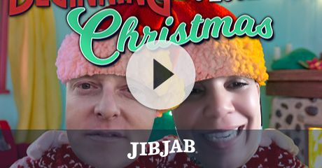 Trim the tree! Slam some nog! Get in the holiday spirit by casting yourself or a merry loved one in this festive JibJab ecard!