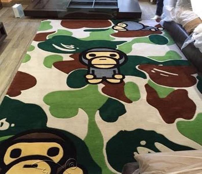 f36d7030 Hot NEW Fashion A Bathing Ape Bape Camouflage Carpet Camo Monkey Home  Decoration #Unbranded #CamouflageMat