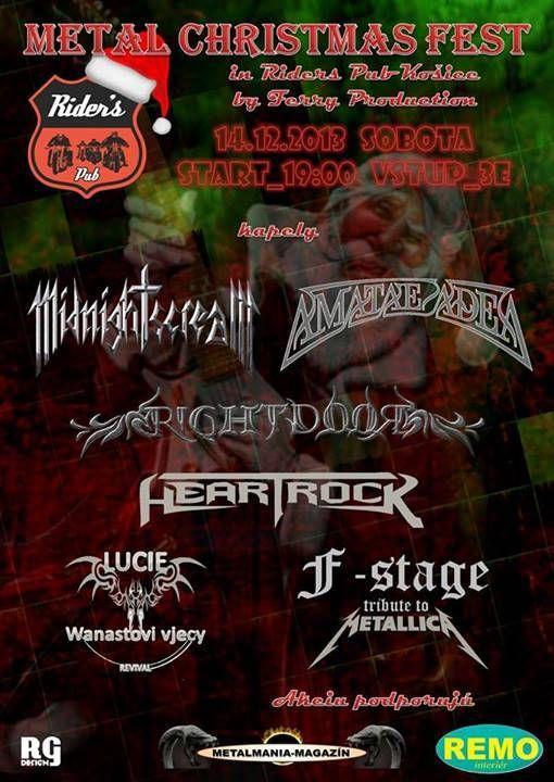 Metal Christmass Fest poster