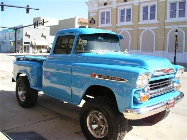 '58 Apache! Sure miss my '59!--Libby