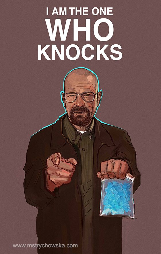Television Characters: Heisenberg   by mstrychowska @ DeviantART.com // Breaking Bad