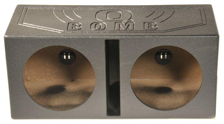 Q Power Q-Power 15-Inch Dual Vented Subwoofer Box Enclosure QBOMB15V,    #Q Power Subwoofer Boxes
