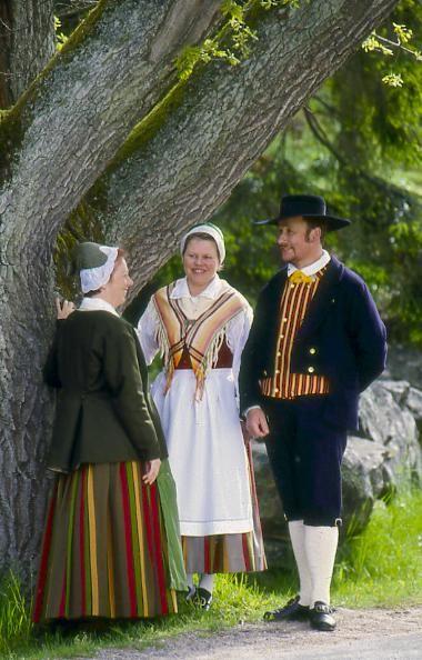 Ekenäs Ekenäs, Nyland Folkdräkter - Dräktbyrå - Brage