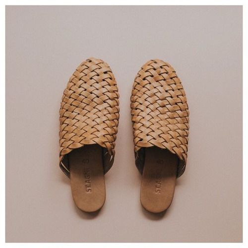 "northmagneticpole:  ""Bunto Woven Loafers-ST. AGNI  """
